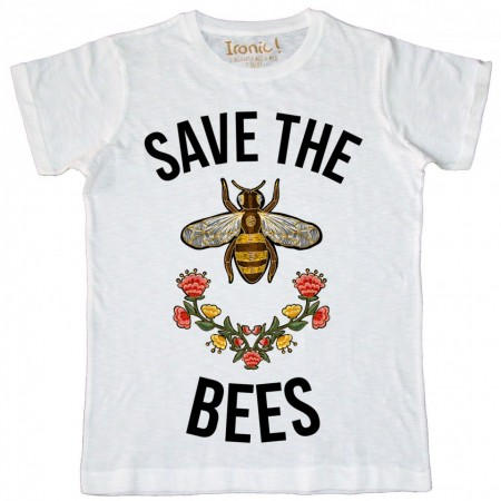 "Maglia Bambino ""Save the Bees"""