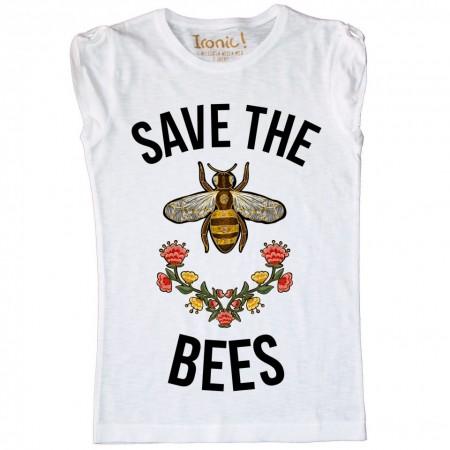 "Maglia Bambina ""Save the Bees"""