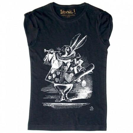"""Maglia Donna """"White Rabbit"""""""