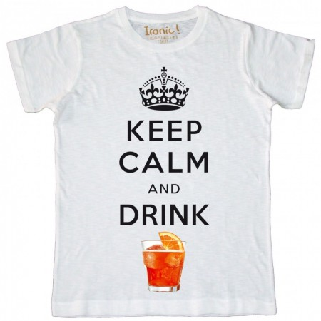Maglia Uomo Keep Calm and drink Spritz