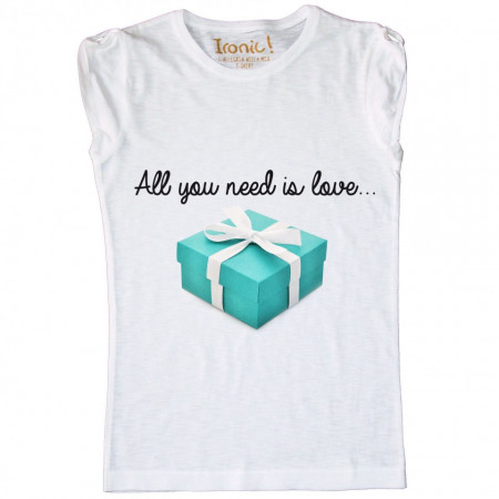 Maglia Donna All you need is Love...