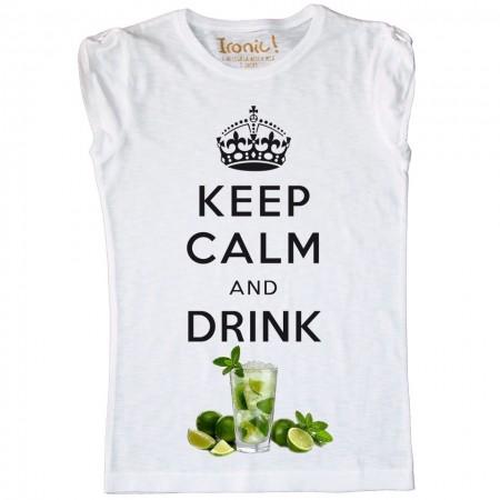 Maglia Donna Keep Calm and drink Mojito