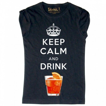 "Maglia Donna ""Keep Calm and Drink Spritz"""