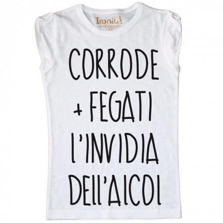 """Maglia Donna """"L'Invidia..."""""""