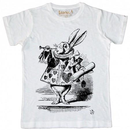 """Maglia Uomo """"White Rabbit"""""""