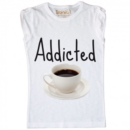 Maglia Donna Addicted Coffee...