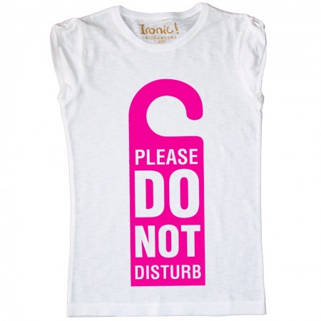 Maglia Donna Do Not Disturb
