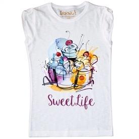 "Maglia Bambina ""Sweet Life"""