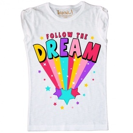 "Maglia Bambina ""Follow the Dream"""