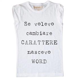 Maglia Donna Carattere...