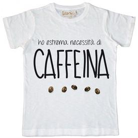 """Maglia Uomo """"Caffeina"""""""