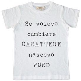 Maglia Uomo Carattere...