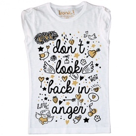"Maglia Bambina ""Don't look back in anger"""