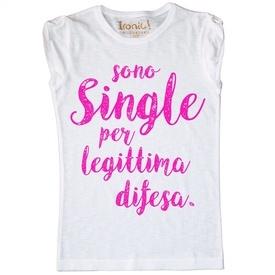 Maglia Donna Sono Single...