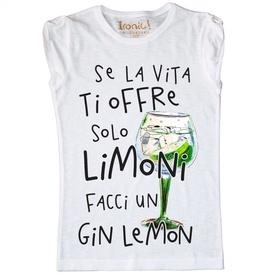 """Maglia Donna """"Facci un Gin Lemon..."""""""