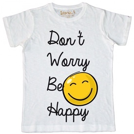 Maglia Bambino Don't worry be Happy