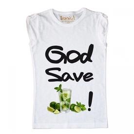 Maglia Donna God Save Mojito
