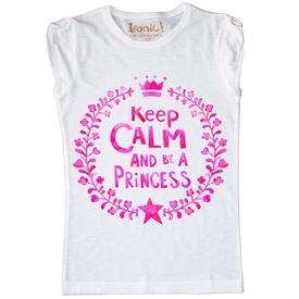 Maglia Donna Keep Calm be a Princess