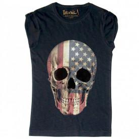 """Maglia Donna """"Skull America"""""""