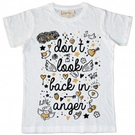 "Maglia Uomo ""Don't look back in anger"""
