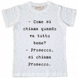 """Maglia Uomo """"Prosecco, si chiama Prosecco"""""""