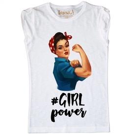 """Maglia Donna """"Girl Power"""""""