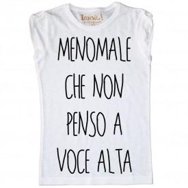 """Maglia Donna """"Menomale"""""""