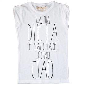 Maglia Donna La mia Dieta...