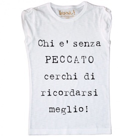 Maglia Donna Senza Peccato...