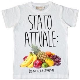 """Maglia Uomo """"Stato attuale: sono alla Frutta"""""""
