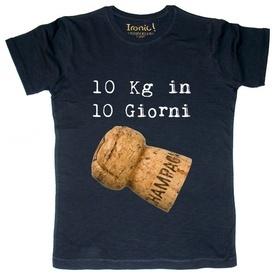 """Maglia Uomo """"10 Kg in 10 giorni"""""""