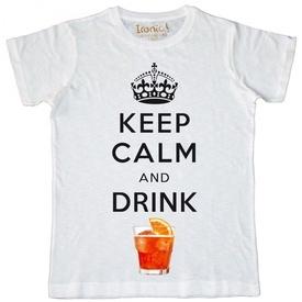 Maglia Uomo Keep Calm and drink Spritz