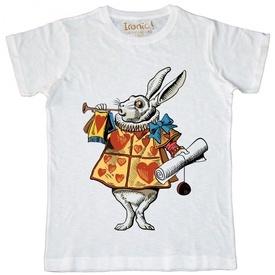 """Maglia Uomo """"White Rabbit"""" color"""