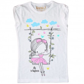 "T-Shirt Bambina ""Fly to Happiness"""