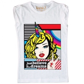 "Maglia Donna ""Just Believe in your Dreams"""
