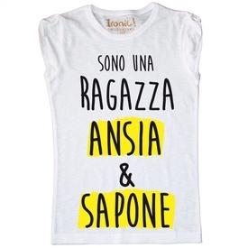Maglia Donna Ansia e Sapone...