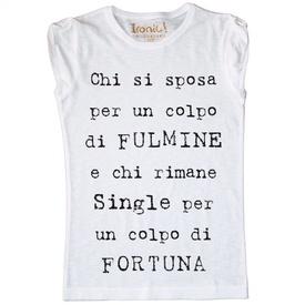 """Maglia Donna """"Colpo di Fortuna"""""""