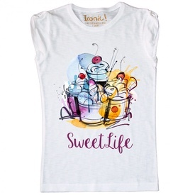 "Maglia Donna ""Sweet Life"""