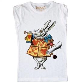 """Maglia Donna """"White Rabbit"""" color"""