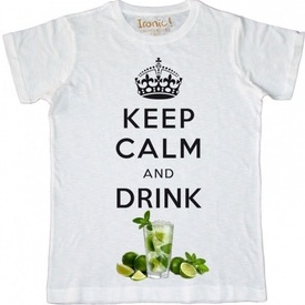 Maglia Uomo Keep Calm and drink Mojito