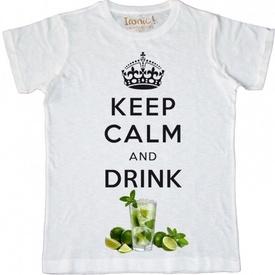 Maglia Uomo Keep Calm and drink Mojito