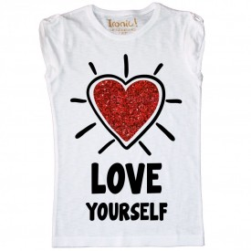 "T-Shirt Bambina ""Love Yourself"""