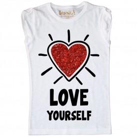 """T-Shirt Bambina """"Love Yourself"""""""