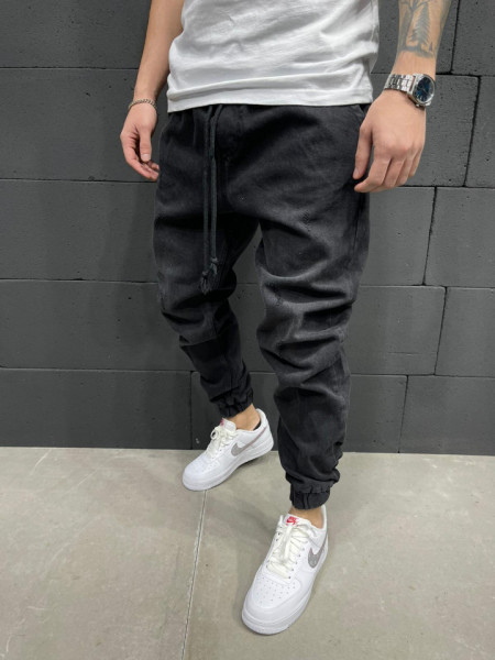 BLUGI SLIM FIT ELASTIC BLACK COD : BGAS541(5856)