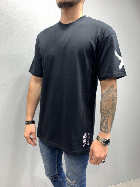 TRICOU FASHION GOD BLACK COD : TSAS189