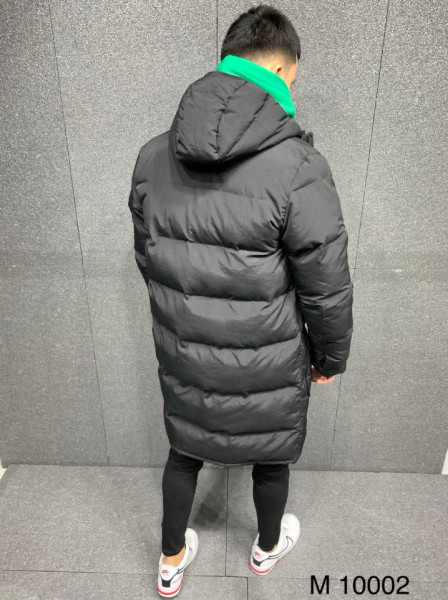 GEACA PARKA LONG BLACK COD : GCAS40