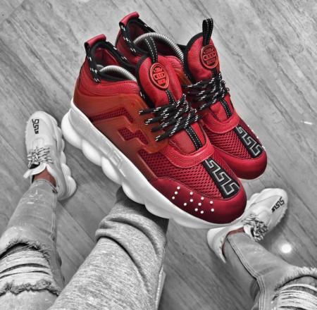 SNEAKERS CHAIN REACTION RED COD : PCLG17