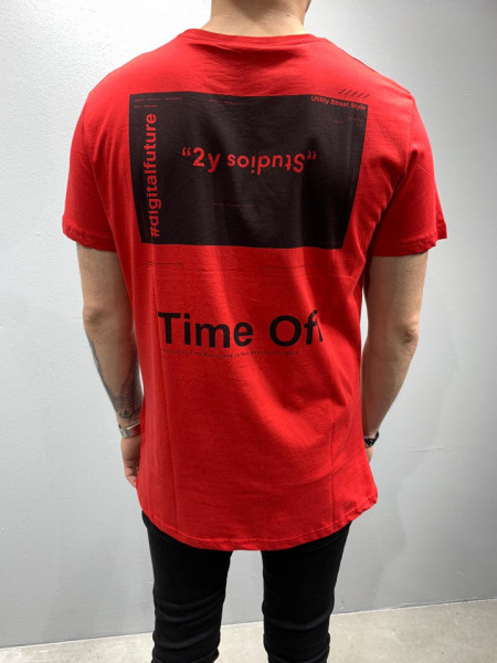TRICOU TIME OFF RED COD : TSAS179