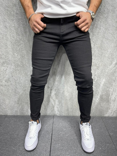 BLUGI SLIM FIT CLASIC BLACK BGAS694(Co7021)