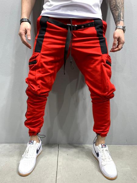 PANTALONI HOINAR RED&BLACK COD : BGAS433